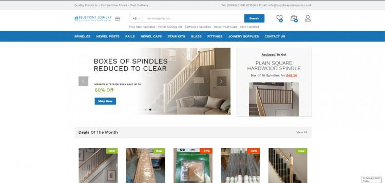 You can find our Buy Cheap Stair Parts website at www.buycheapstairparts.co.uk