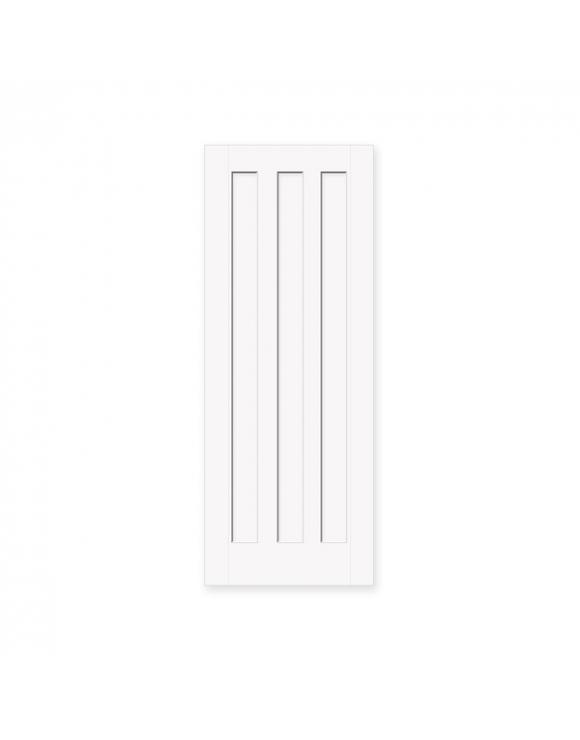 Brindley Vertical 3 Panel Oak Internal Door image