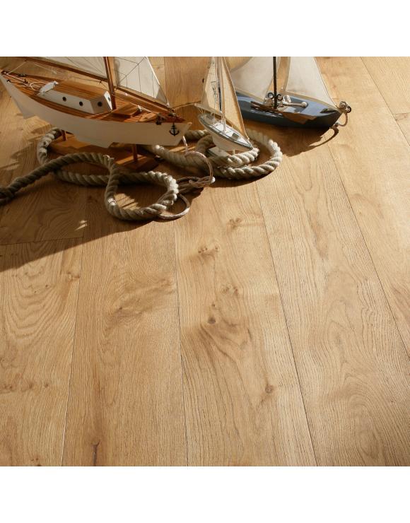 Rustic Oak Engineered Lacquered Floor image