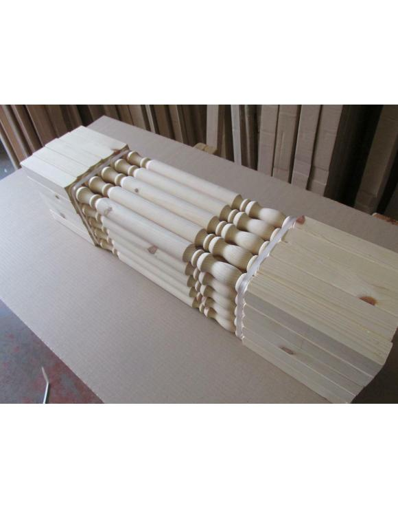 Classic Rolling Pin Stair & Landing Balustrade Kit image