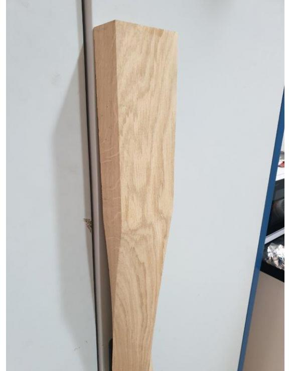 90mm Contemporary Twist Newel Post image