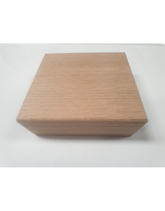 Contemporary Flat Newel Post Cap For 90mm Newel Posts image