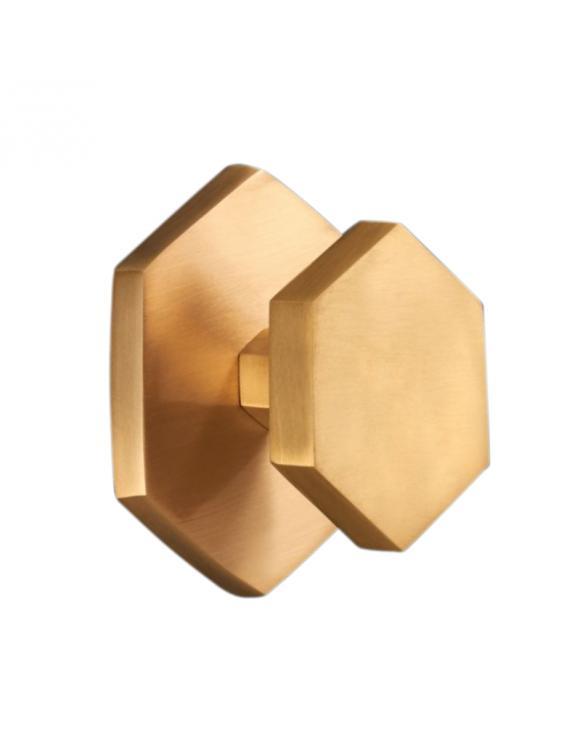 Hexagonal Centre Door Knob image