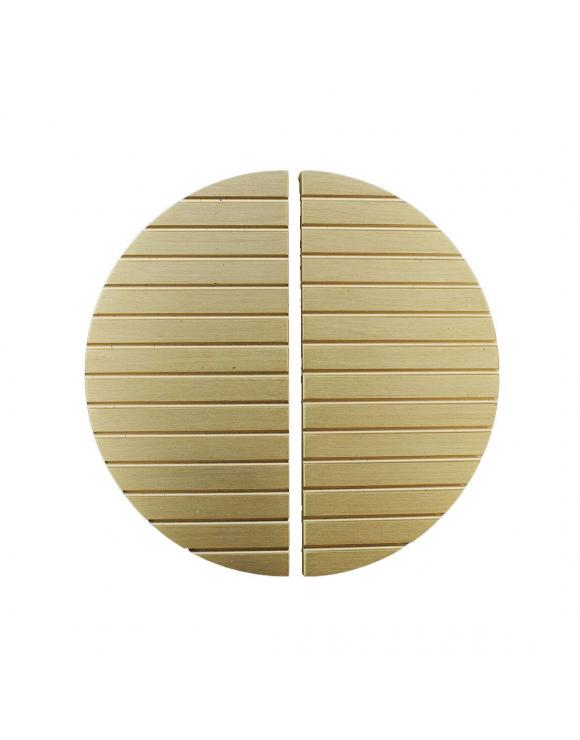 Striped Half Moon Door Handle image