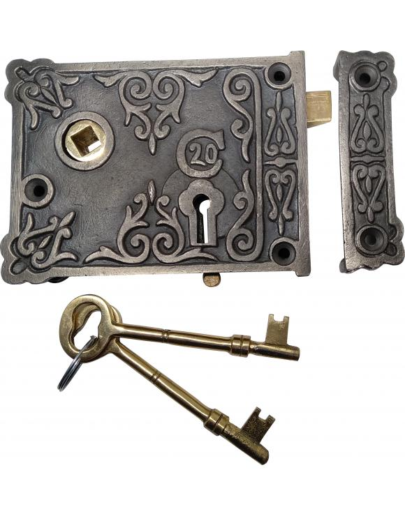 Floral Rim Lock image