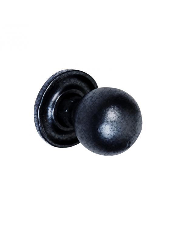 Round with Base Pewter Cupboard Knob image