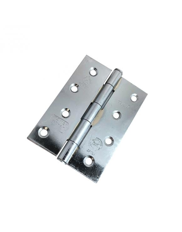 Button Tip Hinge FD30 CE7 Certified 100mm - Select Finish image
