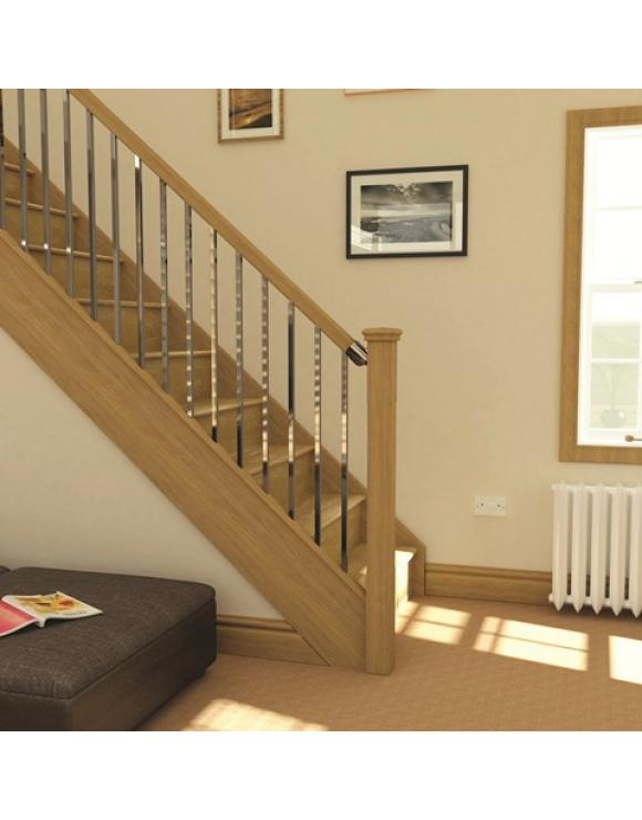 axxys Chrome Squared 12 Step and Landing Balustrade Kit image