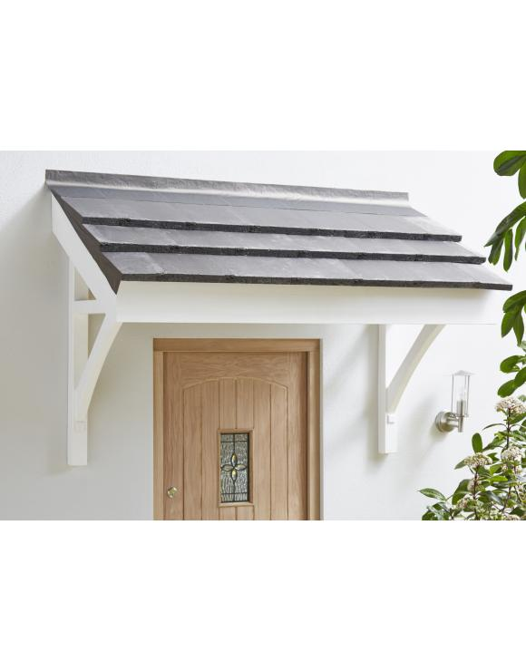 Pine Flat Roof Porch Canopy image