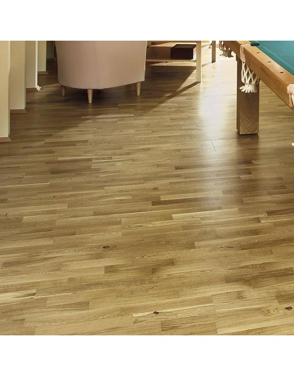 Rustic Oak 3 Strip Standard 2G Engineered Flooring image