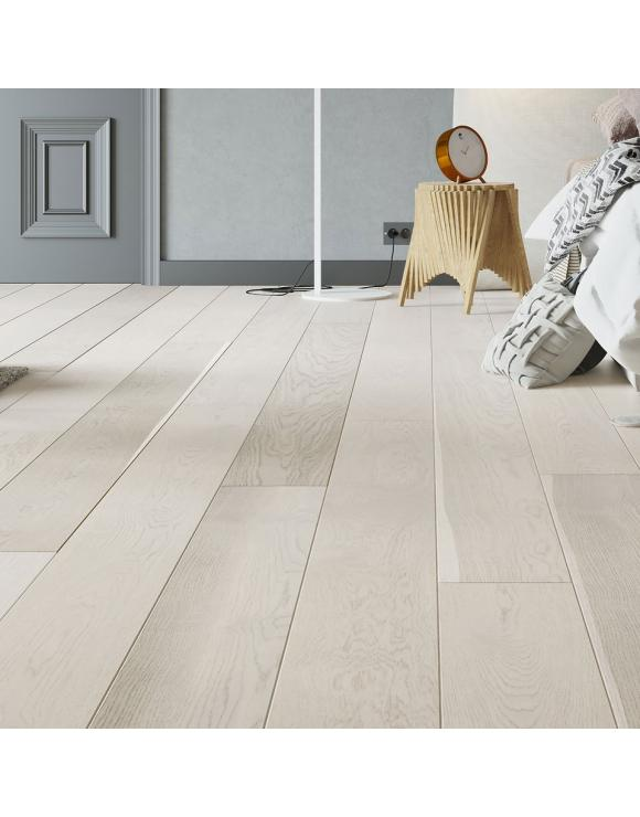 Cashmere Oak 1 Strip Matt Lacquer 5G Engineered Flooring image