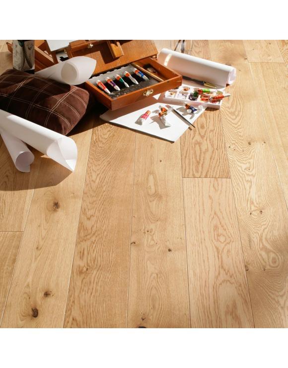 Rustic Oak Engineered Brushed & Oiled Floor image