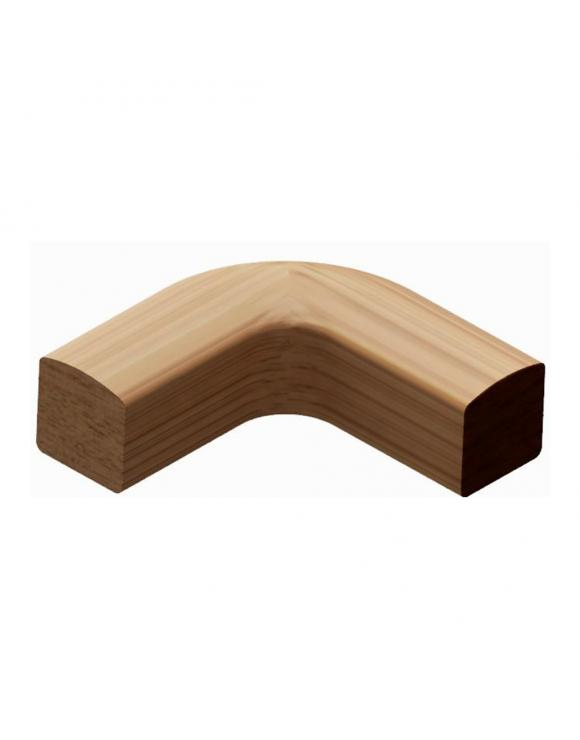 Oak Level Quarter Turn For Iron Balustrade image