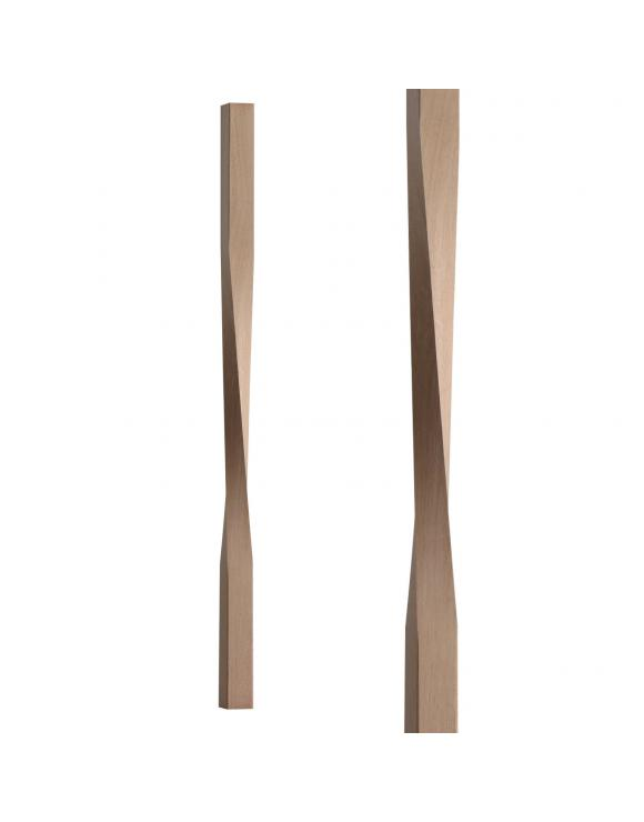 Contemporary Square Twist Spindle 41mm image