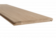 BASICS Oak Stair Cladding Tread 1500mm
