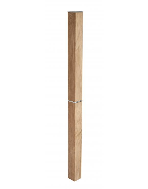 Squared Newel Post with Trim image