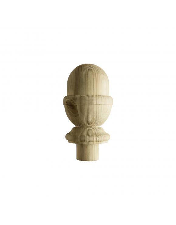 Treated Softwood Decking Acorn Newel Caps image
