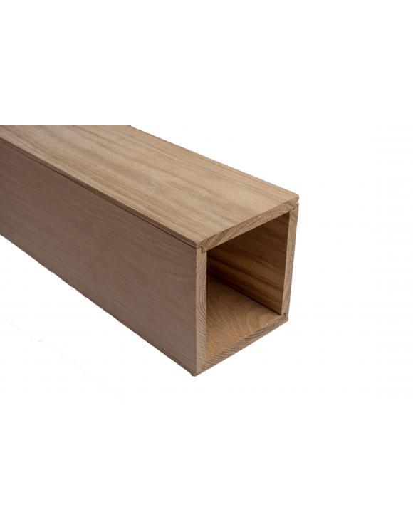 Solid Oak Newel Post Cladding image