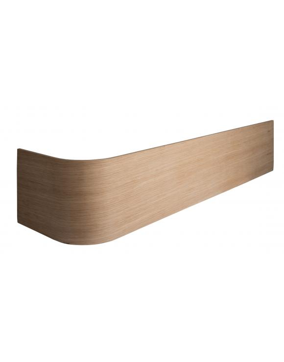 Oak Faced Universal Bullnose Riser image