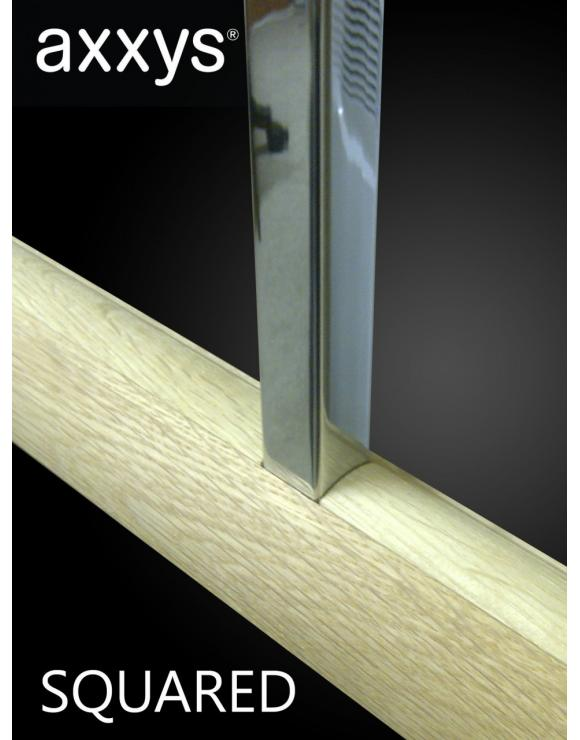 AXXYS Squared Chrome Stair Spindles image