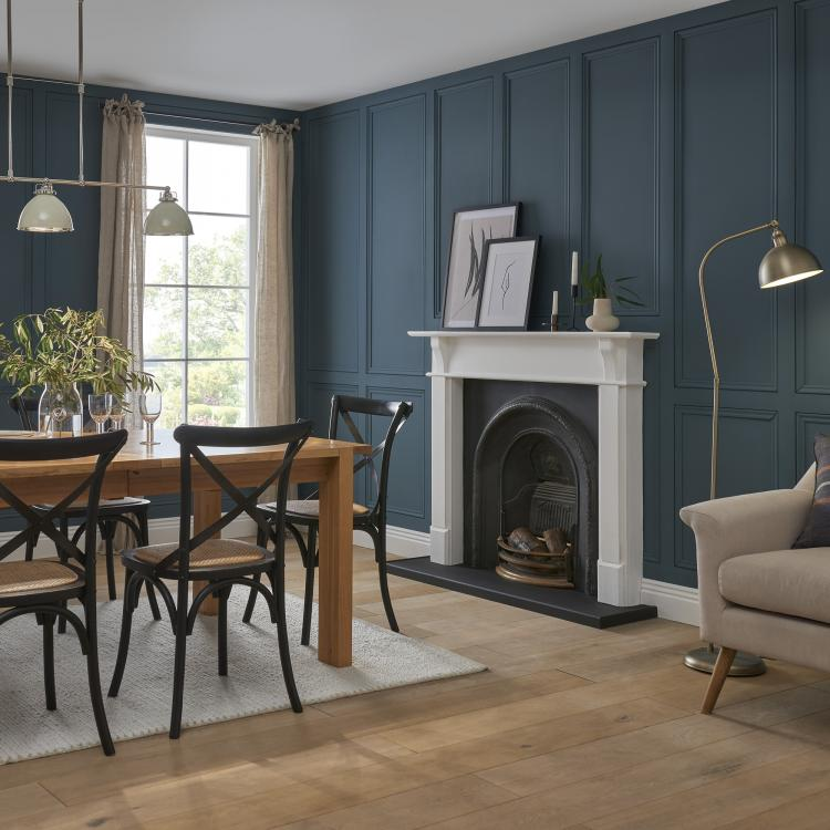 A simple but stylish mixture of Decorative Mouldings and Stripwood have brought charming touches to a home.
