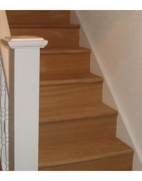 BASICS Oak Stair Cladding Tread and Riser Set image