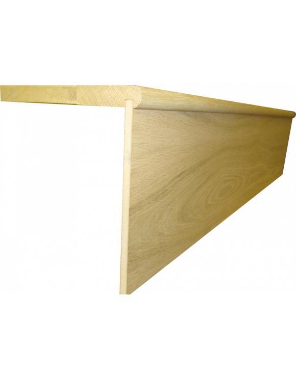 BASICS Oak Stair Cladding Tread and Riser Set image