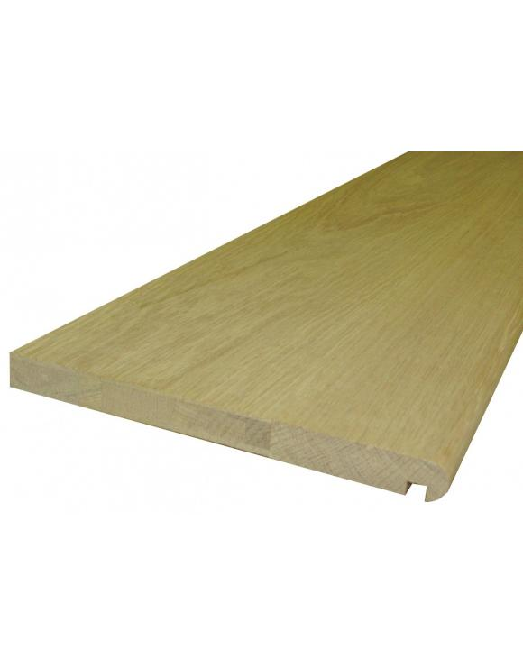 BASICS Oak Stair Cladding Tread 1500mm image