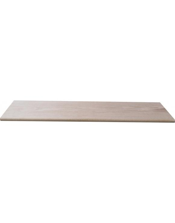 Solid Oak Stair Cladding Top Landing Tread image