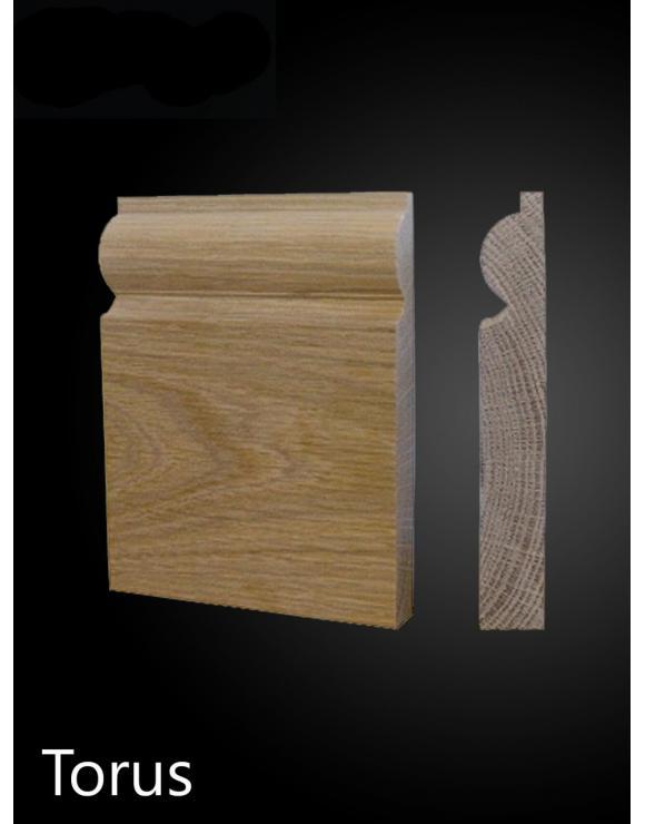 Solid Oak Torus Architrave Set image