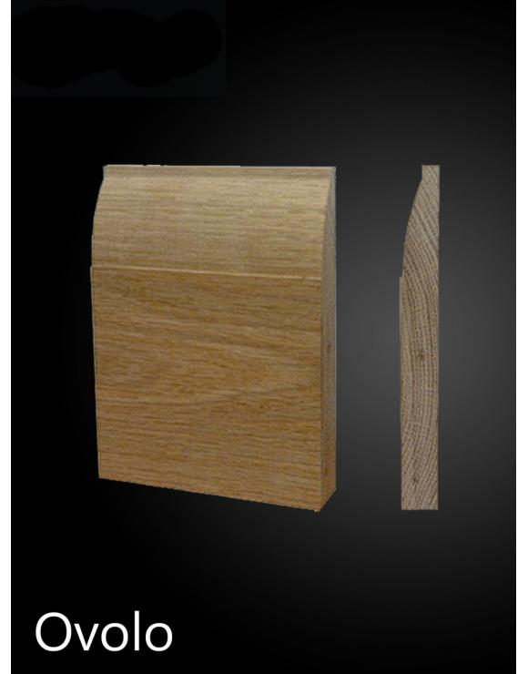 Solid Oak Ovolo Architrave Set image