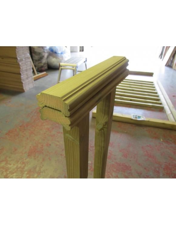 Universal Timber Decking Handrails / Base Rail image