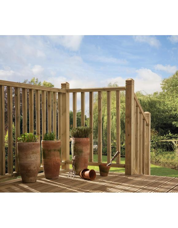 Stop Chamfered Decking Balustrade Kit image