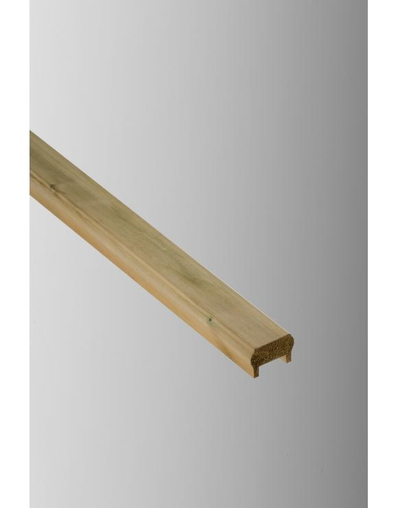Treated Softwood Traditional Handrail / Base Rail image
