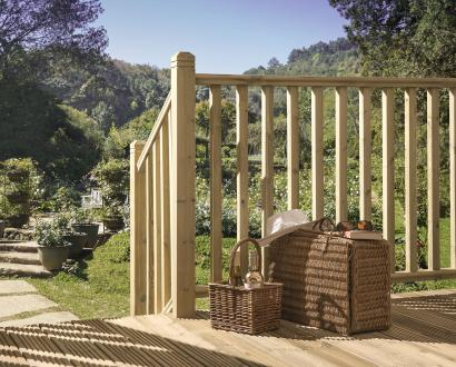 Square Decking Balustrade