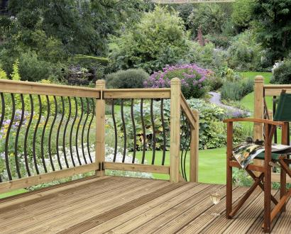 Bow and Eden Metal Decking