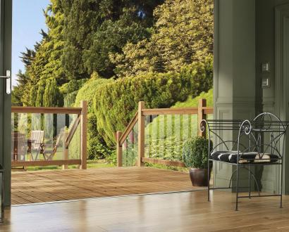 Clearview Glass Decking