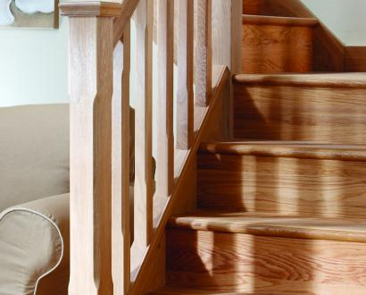 Basics Engineered Solid Oak Stair Cladding