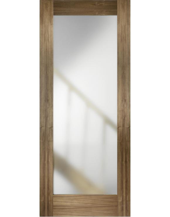 Porto Glazed Walnut Interior Door image