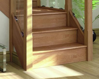 Solid Oak Stair Cladding