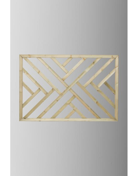 Treated Softwood Decking Panel Cross Hatch image