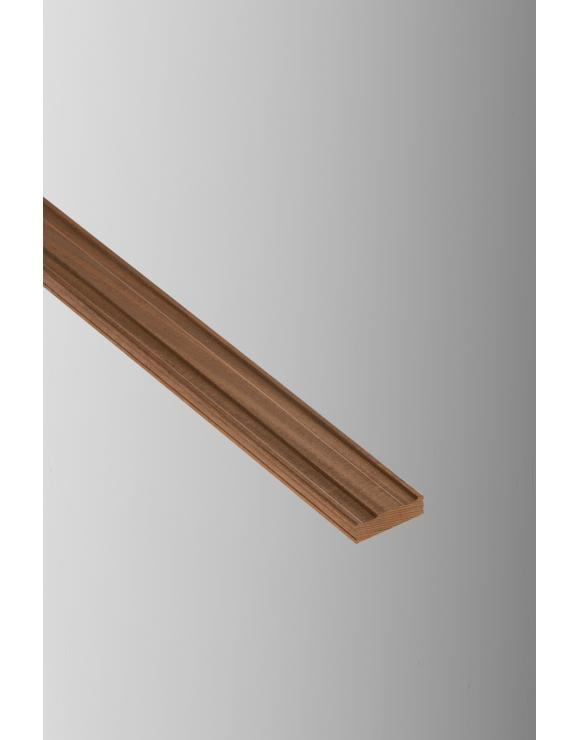 Red Hardwood Decking Capping Rail image
