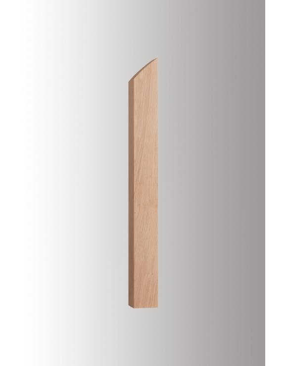 Reflections Solid Oak Intermediate Newel Post image