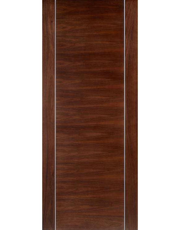 Europa Flush Alcaraz Walnut Interior Door image