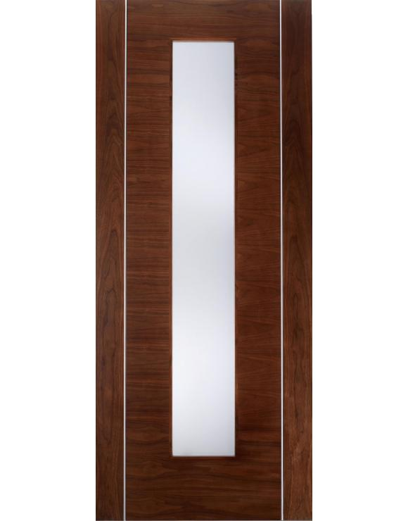 Europa Flush Alcaraz Glazed Walnut Interior Door image