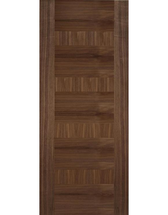 Europa Flush Monaco Walnut Interior Door image