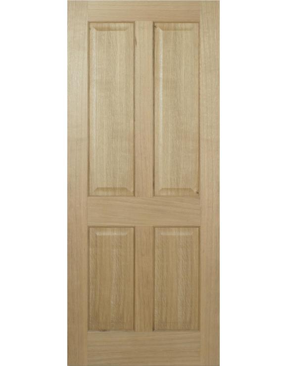 Regency 4P Pre-Finished Oak Interior Door image