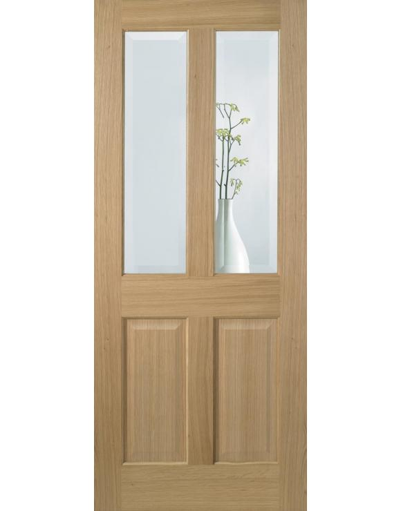 Richmond Glazed Pre-Finished Oak Interior Door image