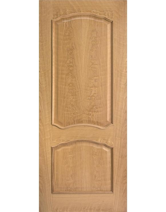 Louis RM2S Pre-Finished Oak Interior Door image