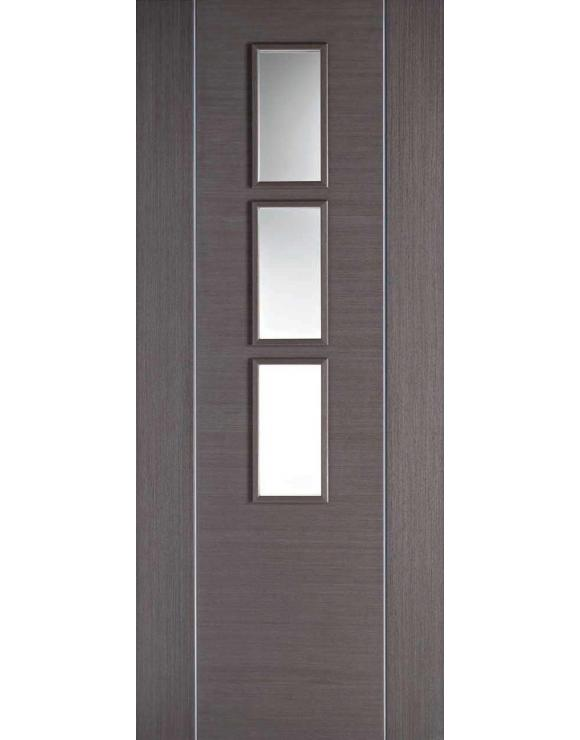 Alcaraz Glazed Chocolate Grey Interior Door image
